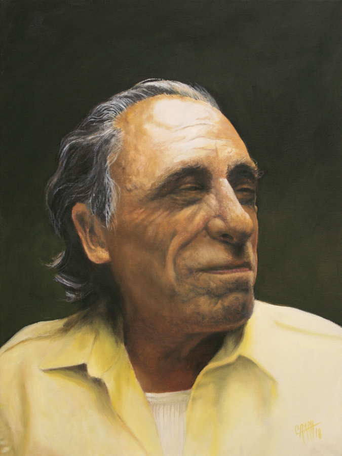 Porträt Charles Bukowski